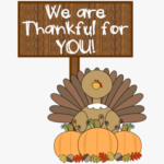 We are Thankful for You!